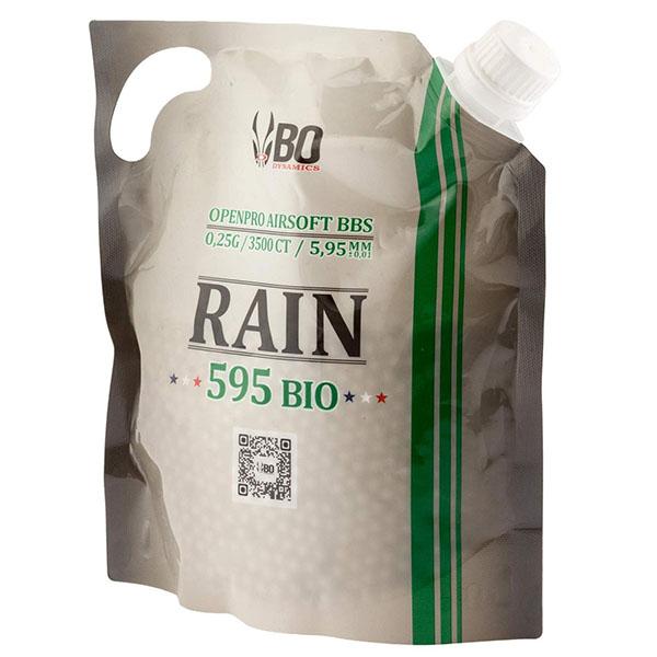 Billes Bio Vosges Airsoft 0,25g - BO Dynamics Rain 595 Bio