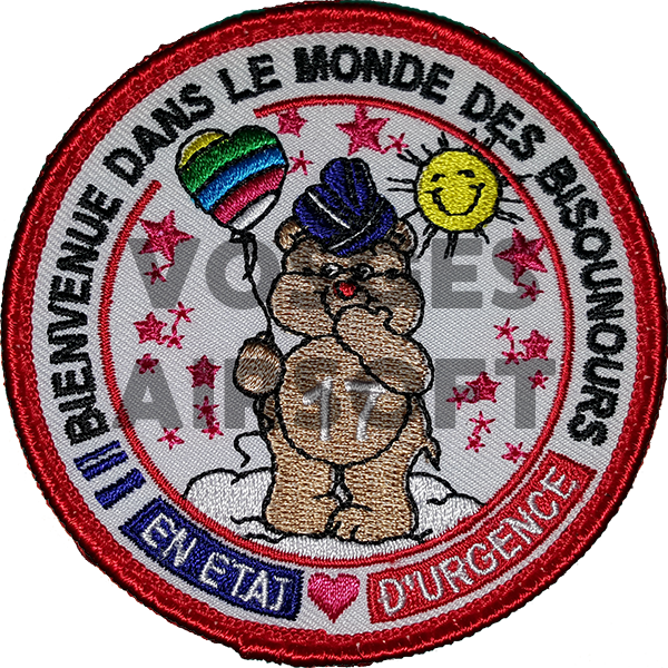 Ecusson Bisounours Gendarmerie/Police (FR)